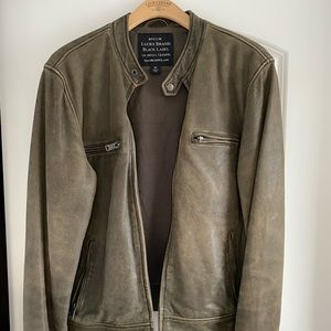 Lucky Brand Genuine Leather Jacket